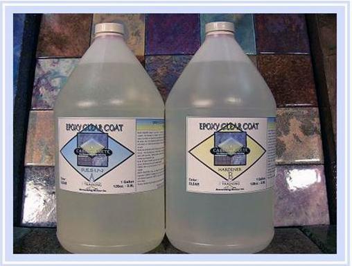 sbc liquid glass countertop epoxy 1 gallon  u0026 1 gallon kits