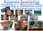 OUTDOOR CONCRETE COUNTERTOP DIY KIT