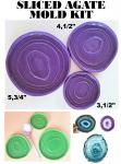 Sliced Agate Epoxy Resin Mold Kit