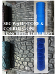 Concrete Stone Texture Roller Kit - Wall Stone & Cobble Stone